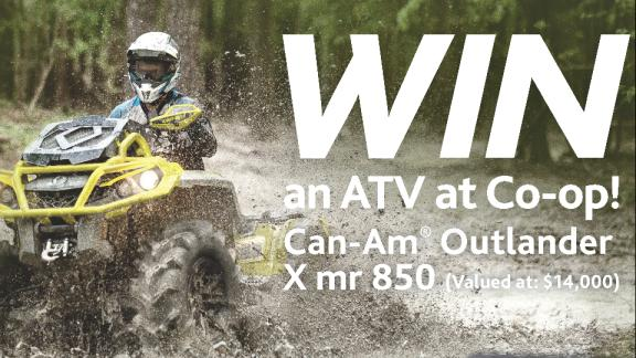 Enter to Win a Quad!